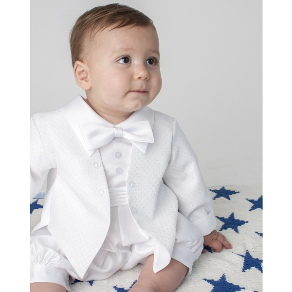 LITO Baby Boys White Silk Romper Hat Baptism Christening Set M. Sold by Sophias Style Boutique Inc. $ $ LITO Baby Boys White Cotton Long Romper Hat Baptism Christening Set M. Sold by Sophias Style Boutique Inc. $ $